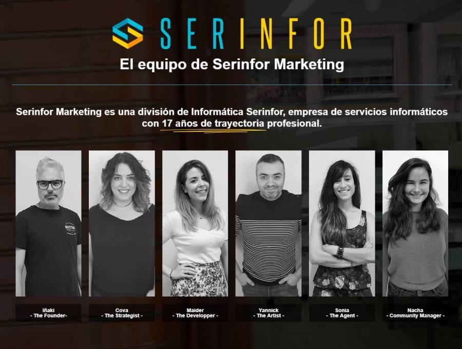 Este es el equipo actual en la agencia en la que trabajo de diseñador gráfico, web, consultor y marketero.