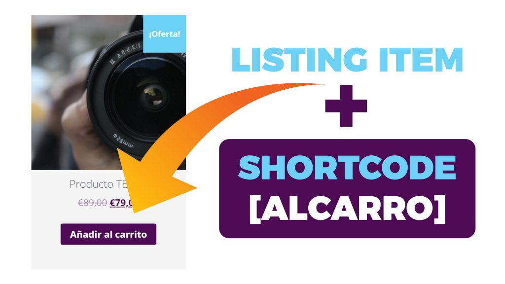 Zona Premium - shortcode listing