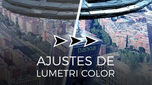 Ajustes básicos de Premiere, tamaño de clip y Lumetri Color
