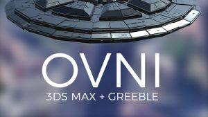 Modelado básico de un OVNI en 3ds Max - Inset, Extrude, Bevel y Greeble