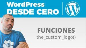 Añadiendo el logo: etiqueta img y función the_custom_logo()