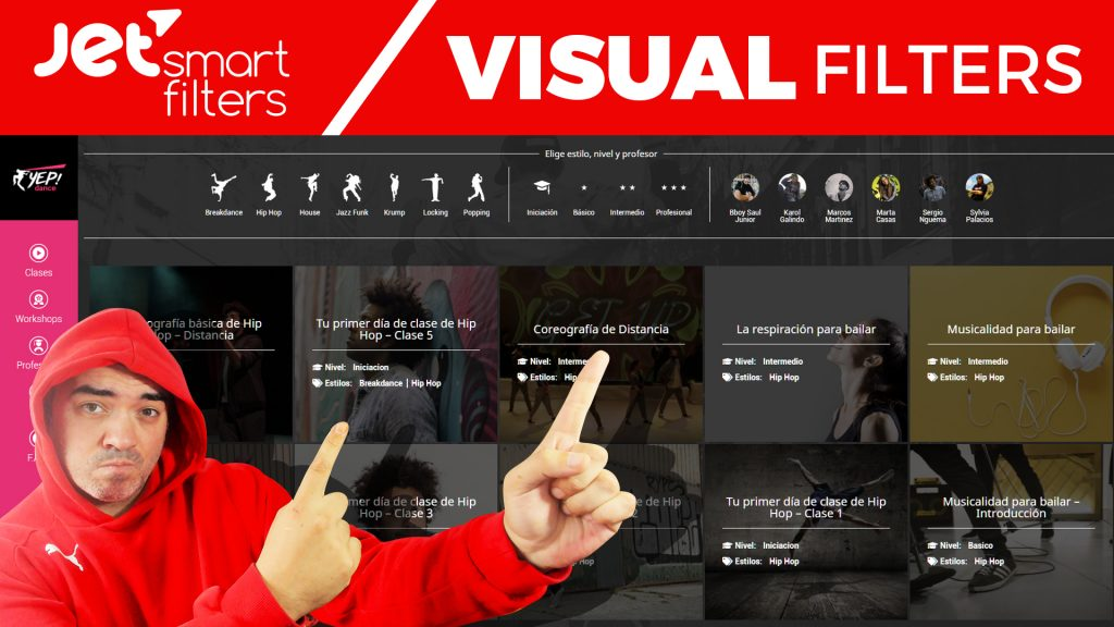 La Máquina del Branding - visual filters jet
