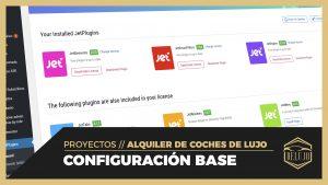 Configuración Base de WordPress, Elementor e instalación de plugins para DELUJO