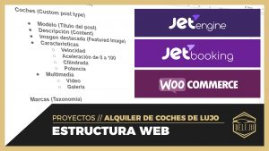 Creando la Estructura Web para DELUJO