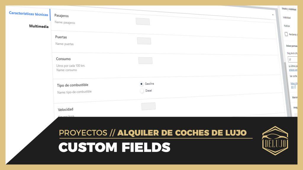 La Máquina del Branding - custom fields