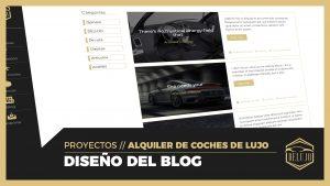 Diseño de blog COMPLETO - Archive, Single, Filtros y Menú de categorías