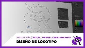 DISEÑO DE LOGOTIPO // ARKHAM - Hotel, tienda y restaurante