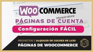 Ajustes NATIVOS  y FÁCILES de WooCommerce para Mi Cuenta, Registro, Acceder y Finalizar Compra