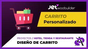 Diseño de Carrito con Jet WooBuilder