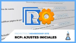 Restrict Content PRO - Ajustes iniciales - fórmulaWP