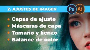 AJUSTES BÁSICOS DE IMAGEN - Tamaño, recorte, proporción, capas de ajuste y balance de colores
