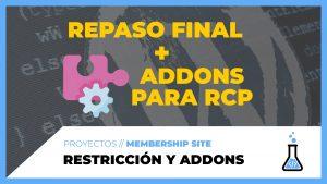 Tipos de restricción + ADDONS para Restrict Content PRO