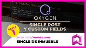 Diseño de SINGLE de CPT en Oxygen  - Ficha de inmueble | #PARTE 1
