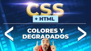 Colores y degradados lineales o radiales en CSS