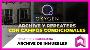 ARCHIVE en Oxygen + Campos con visibilidad condicional
