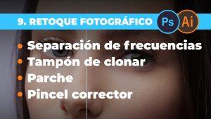 Retoque fotográfico - Separación de frecuencias y herramientas de retoque