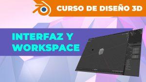 Interfaz y Workspaces en Blender