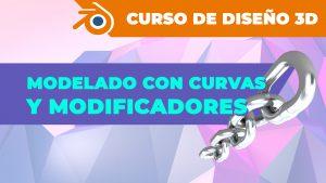 Modelado con Curvas, Modificadores y más en Blender
